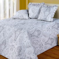 Покрывало стеганое Cotton Dreams Amara Silver